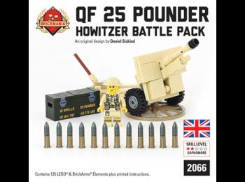 British QF25 Pounder - Howitzer Battle Pack
