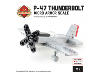 P-47 Thunderbolt 1/100 Scale Minikit