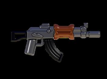 Soldier Military BrickArms AK-APOC Rifle for Minifigures