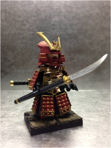 Police Lights For Sale >> Samurai Warrior Red 001 Ministry-Of-Arms - LEGO Custom ...