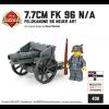 7.7 cm FK 96 N/A - Feldkanone 96 Neuer Art with German Soldier