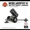 Nebelwerfer - German Multiple Rocket Launcher