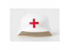 German Medic Helmet - White