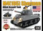 M4(105) Sherman - Allied Assault Tank with Brickstuff Light Effects