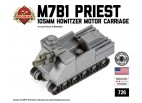 Micro Brick Battle - M7B1 Priest Micro-Armor