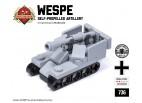 Micro Brick Battle - Wespe Micro-Artillery