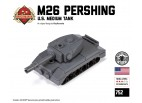 Micro Brick Battle - M26 Pershing Micro-tank