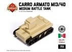 Micro Brick Battle - Carro Armato M13/40 Micro Tank