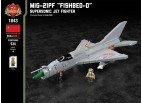 """MiG-21PF """"Fishbed-D"""" - Supersonic Jet Fighter"""