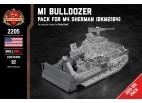 M1 Bulldozer - Add-on Pack for M4 Sherman (BKM2184)