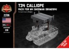 T34 Calliope - Add-on Pack for M4 Sherman
