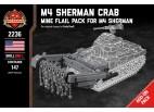 M4 Sherman Crab - Mine Flail Pack for M4 Sherman (BKM2184)