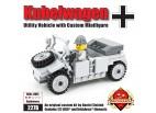 Kübelwagen - Utility Vehicle with Custom Minifigure - Light Gray