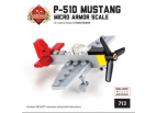 "P-51D ""Red Tail"" Mustang - American Fighter 1/100 Scale Minikit"