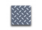 Diamond Plate Pattern Tiles (Dark Bluish Gray)