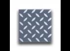 Diamond Plate Pattern Tiles (Dark Bluish Gray)