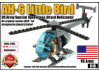 AH-6 Little Bird - US Army Special Operations Attack Helicopter