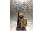 Samurai Warrior with Customize Shield and NagiNata (Pole Sword)