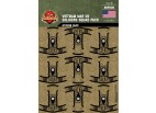 Vietnam War US Soldiers Squad Sticker Pack