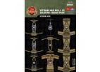 Vietnam War NVA and VC Soldiers Squad Sticker Pack